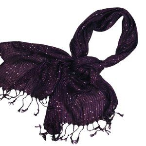 COLLECTION EIGHTEEN  SCARF POTENT PURPLE